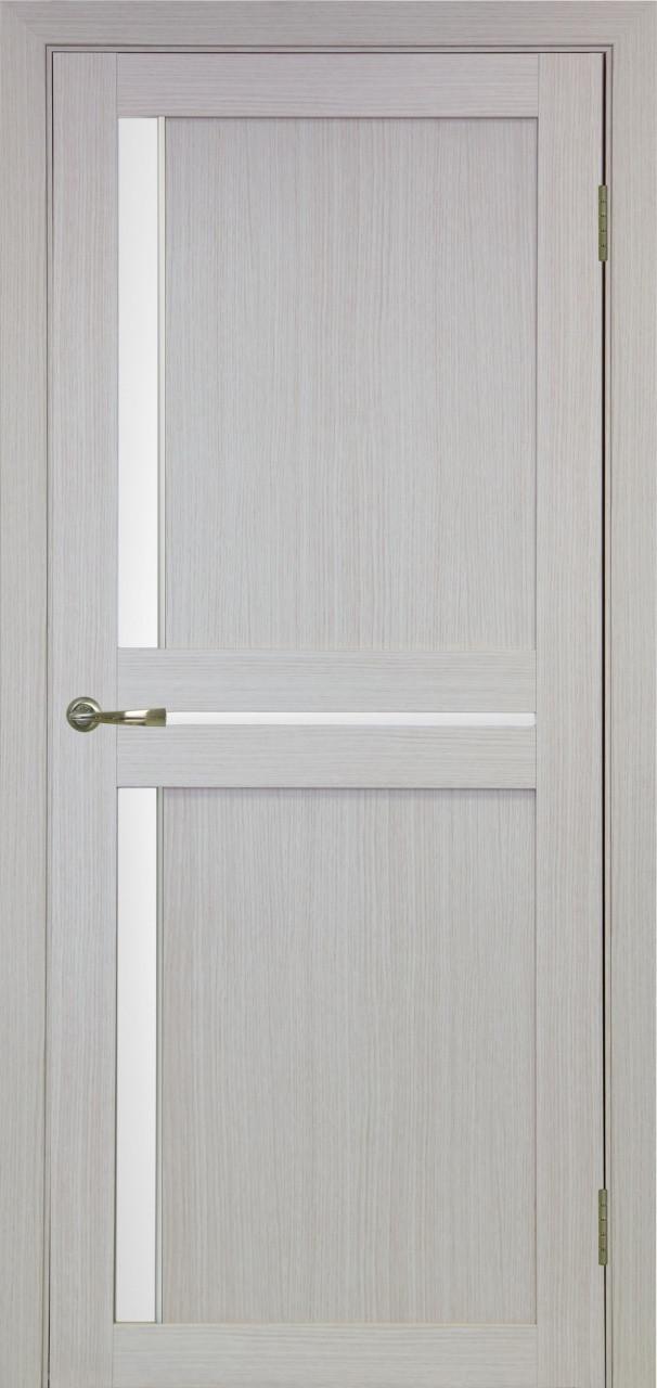Комплект двери Оптима Порте 523.221 АПС мат.хром ст. сатин 600x2000 - фото 1