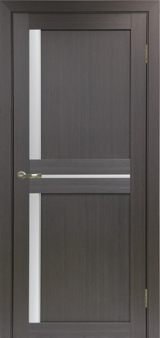 Комплект двери Оптима Порте 523.221 АПС мат.хром ст. сатин 600x2000 - фото 2