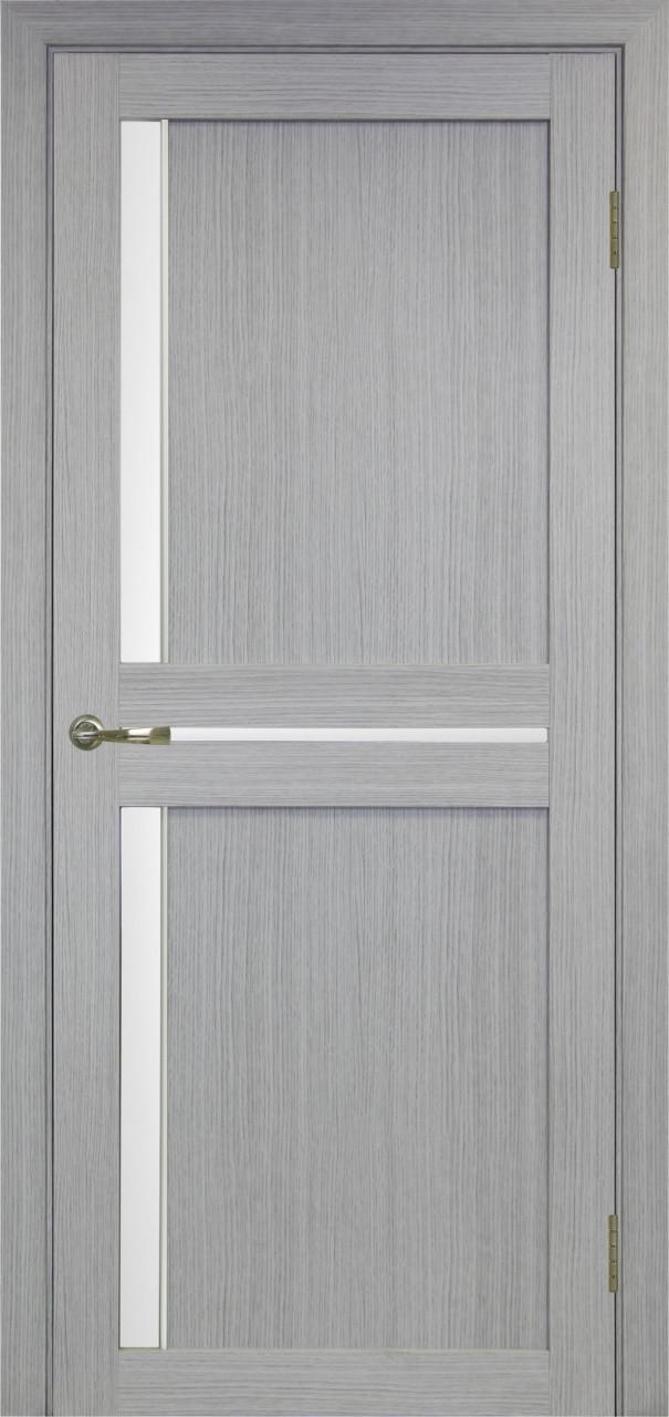 Комплект двери Оптима Порте 523.221 АПС мат.хром ст. сатин 600x2000 - фото 3