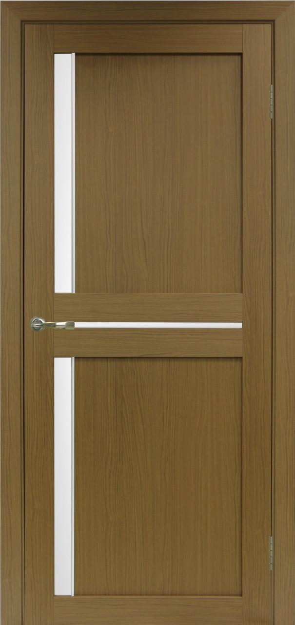 Комплект двери Оптима Порте 523.221 АПС мат.хром ст. сатин 600x2000 - фото 4