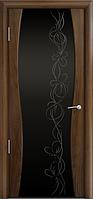 Комплект двери Мильяна Омега 1 ст. Фантазия черное 600x2000