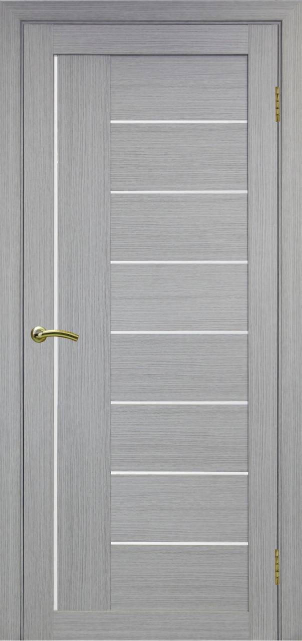 Комплект двери Оптима Порте 524 ст. сатин 600x2000 - фото 1