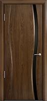 Комплект двери Мильяна Омега 1 узкое ст. черное 600x2000