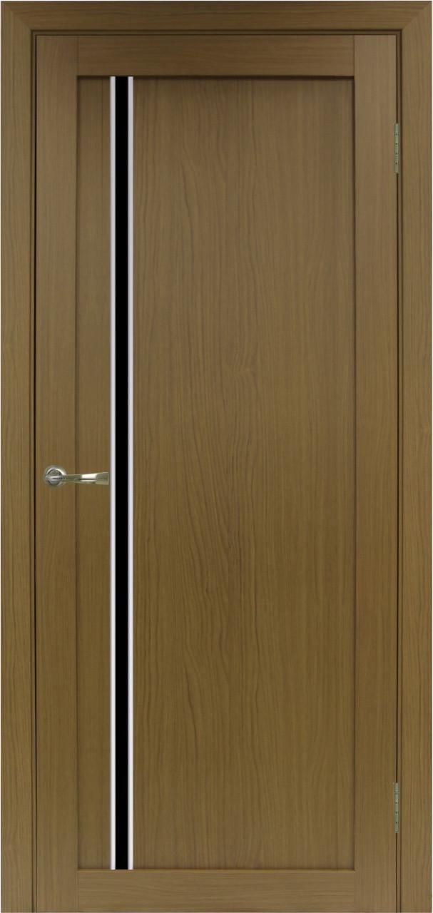 Комплект двери Оптима Порте 527 АПС мат.хром ст. черное 600x2000 - фото 2