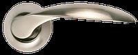 Дверная ручка Morelli Портал MH-07 SN белый никель