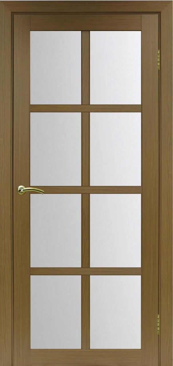 Комплект двери Оптима Порте 541 ст. сатин 600x2000 - фото 1