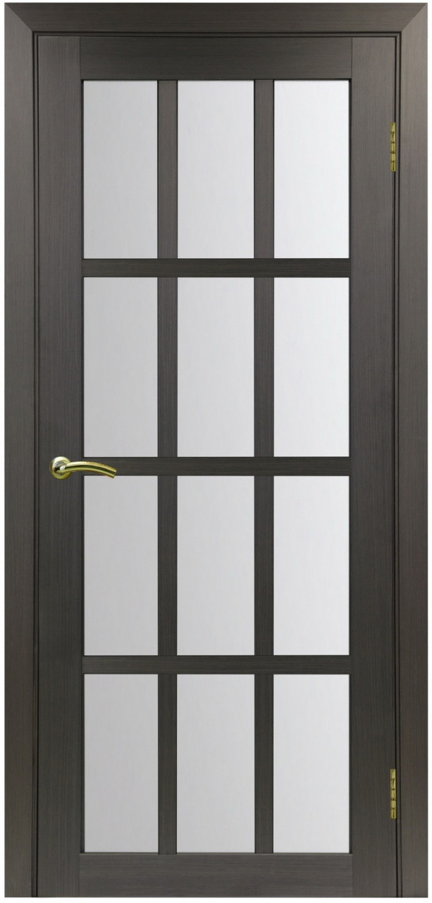 Комплект двери Оптима Порте 542 ст. сатин 600x2000 - фото 1
