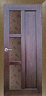 Комплект массивной двери ВиД Модерн ДГО№2 ст. Шале 600x2000