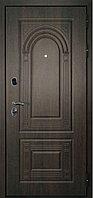 Сейф-дверь Дверной континент Флоренция орех мокко/дуб беленый 860×2050