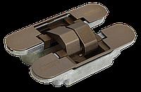 Скрытые петли Morelli с 3-D регулировкой HH-4 W Цвет - Античная бронза
