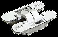 Скрытые петли Morelli с 3-D регулировкой HH-4 W Цвет - Белый