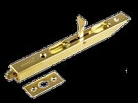 Торцевой шпингалет Morelli L160 PG золото