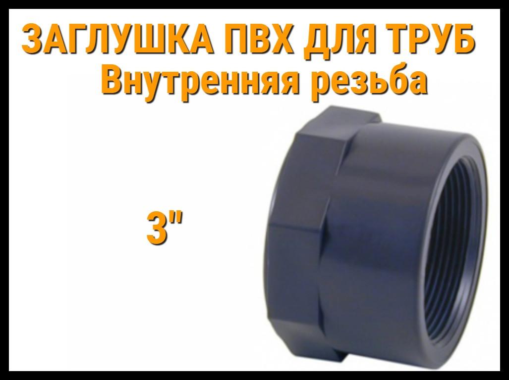 "Заглушка резьбовая ПВХ для труб ERA (3"")"