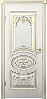 Комплект двери ДвериХолл Вителия ДГ патина золото 600x2000