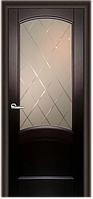 Комплект двери ДвериХолл Криста лайт стекло Готика 600x2000