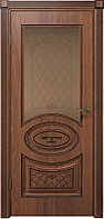 Комплект двери ДвериХолл Вителия ДО черная патина ст. бронза 900x2000