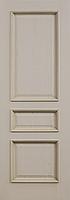 Комплект двери ДвериХолл Граф багет тиснение ДГ 600x2000