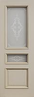 Комплект двери ДвериХолл Граф багет тиснение ст. Тезоро 600x2000