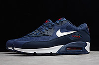 "Кроссовки Nike Air Max 90 Essential ""Midnight Navy/University Red-White"" (36-45), фото 2"