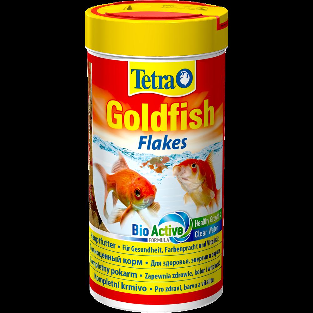 Корм Tetra Goldfish для всех видов золотых рыбок, хлопья - 12 г