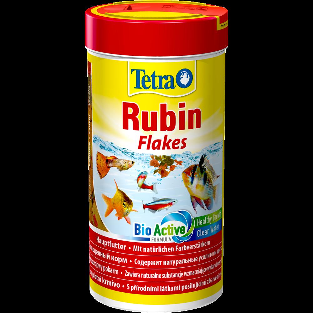 Корм Tetra Rubin Flakes для рыб для усиления естественной окраски, хлопья - 12 г
