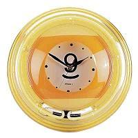 Часы настенные «Девятка» (неон) D35см