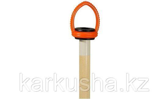Подвес резиновый для кия (черно-оранжевый)