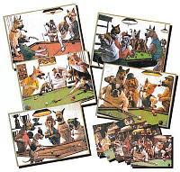 Зеркало-постер «Doggies» (1 шт)