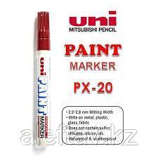 Маркер Paint PX-20 , красный 2,2-2,8 мм Uni Paint (Mitsubishi), фото 2