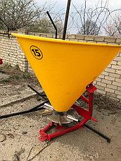 Разбрасыватель минеральных удобрений 500H Strumyk Польша (однодисковый), фото 2