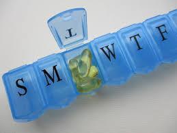 Органайзер для таблеток на 7 дней - Таблетница