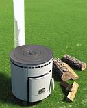 Отопительная печь Печурка (с варочной поверхностью из нескольких колец), фото 2