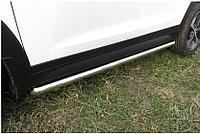 Защита порогов d57 труба Hyundai Tucson 4WD 2015-18