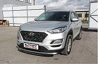 Защита переднего бампера d57 Hyundai Tucson 2019-