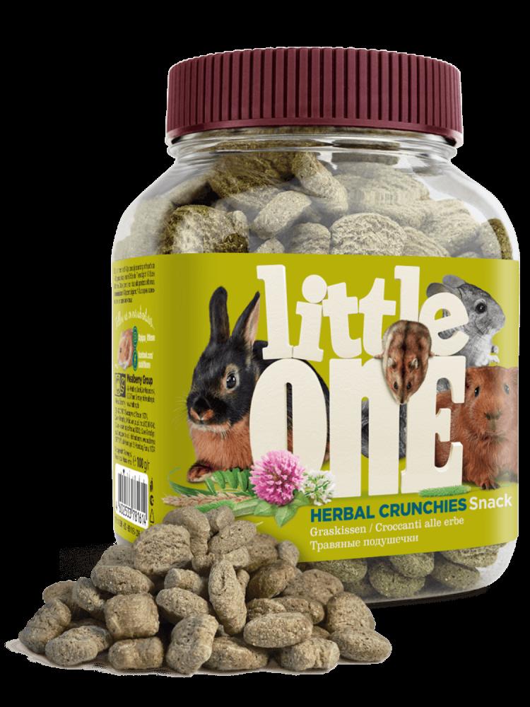 Травяные подушечки Little One для всех видов грызунов - 100 г