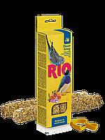 Палочки RIO для волнистых попугайчиков и экзотов с медом - 40 г