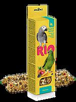 Палочки RIO для попугаев с фруктами и ягодами - 40 г