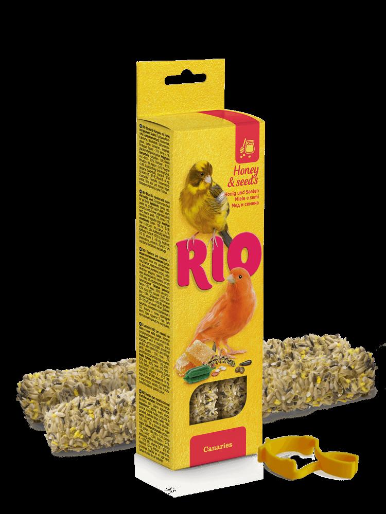 Палочки RIO для канареек с медом и полезными семенами - 2 шт