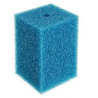 Губка прямоугольная запасная синяя для фильтра  №19 (15х15х19 см)