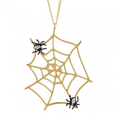 Колье с пауками 🕷