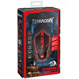 Компьютерная мышь Redragon Centrophorus черный+красный, фото 2