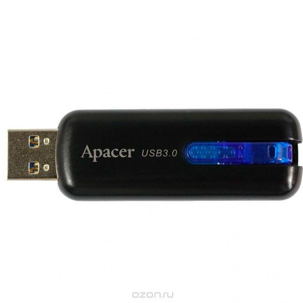 USB Флеш 16GB 3.0 Apacer AP16GAH354B-1 черный