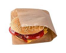 Уголок д/ гамбургера 170х170х+60 мм, крафт 40 г, 2000 шт