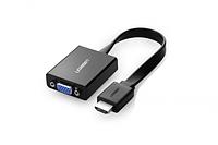 Конвертер UGREEN HDMI на VGA Adapter (40248, Black)