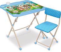Комплект детской мебели Ника Нашидетки КНД4/1 кто чей малыш, фото 1