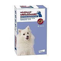 Антигельминтик Мильбемакс 12.5/125 мг для собак от 5 до 25 кг, Elanco - 1 табл.