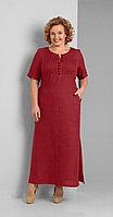 Платье Диамант-1287/1, красный, 52