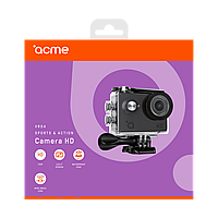 Экшн видеокамера ACME VR04 Compact HD 5 MP угол обзора 140