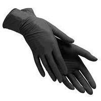 Перчатки нитрил черные 100шт/уп
