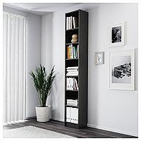 БИЛЛИ Стеллаж, черно-коричневый, 40x28x237 см, фото 1